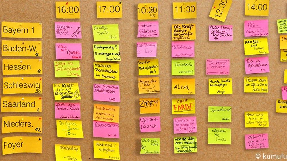 Inspicamp Bonn 2018: Sessionplanung