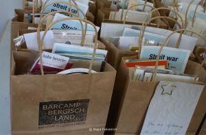 Rückblick Barcamp Bergisch Land 2020: jede Menge Giveaways (Bild: Majid Fahimkish)