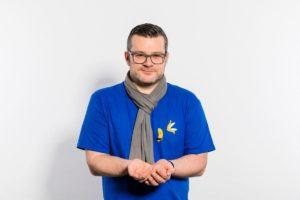Für Christoph Ziegler bedeuten gebende Hände Fürsorge und soziales Engagement (Foto: Daniel Schmitt, Spitzlicht Fotografie Wuppertal)