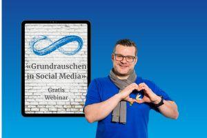 """Gratis-Webinar """"Grundrauschen in Social Media"""""""