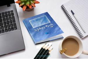 Ein haptischer Ort für Fokus, Reflexion und Dokumentation: das 3-Jahres-Buch in der kumulus Edition als Strategiebuch