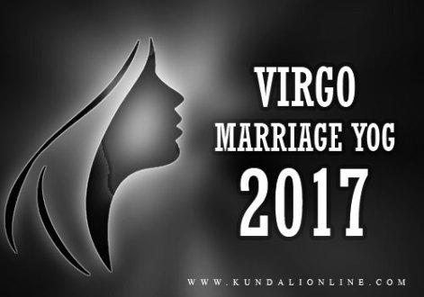 Virgo Marriage Horoscope 2017