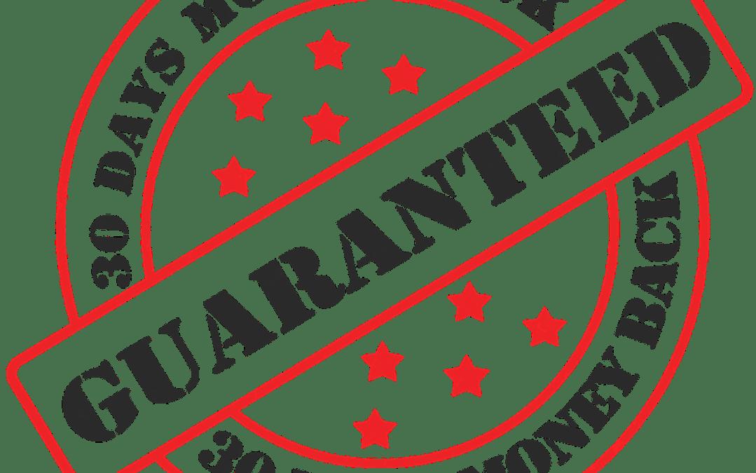 Garantien können zu geringerer Kundenzufriedenheit führen – Kundenorientierung.coach