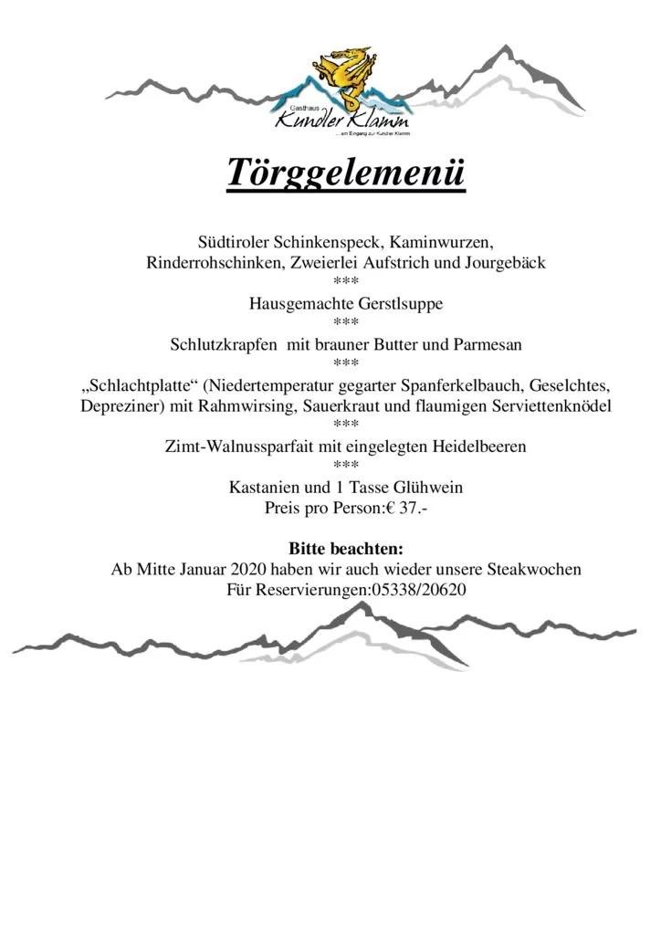 thumbnail of Toerggelenmenue