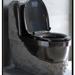 Chinese Kitchen Cabinets Rustic Painted Stone Toilet | Kungfu Stone-professional China Basalt ...