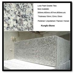 Marble Top Kitchen Table Backsplash For Ideas China Luna Pearl Granite | Kungfu Stone-professional ...