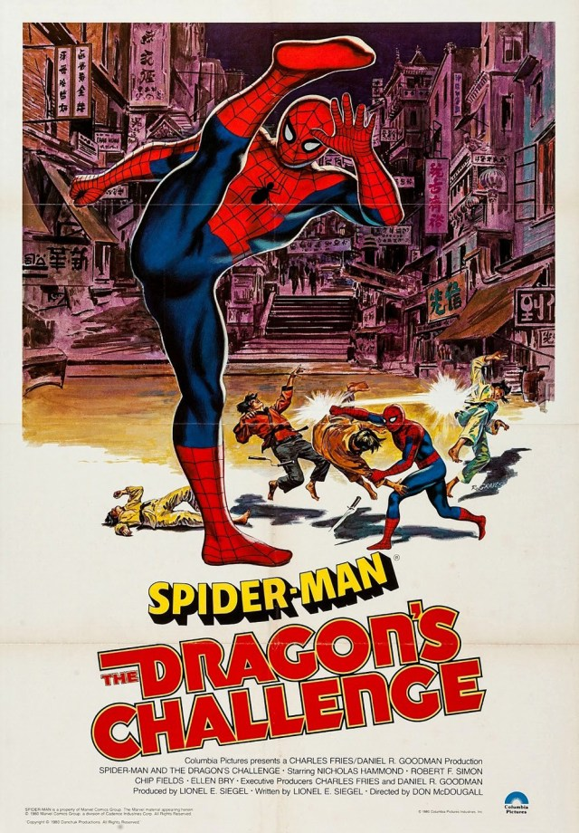 Spider-Man: The Dragon's Challenge movie poster