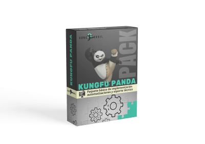 Pack KungFu Panda  automatizaciones de marketing