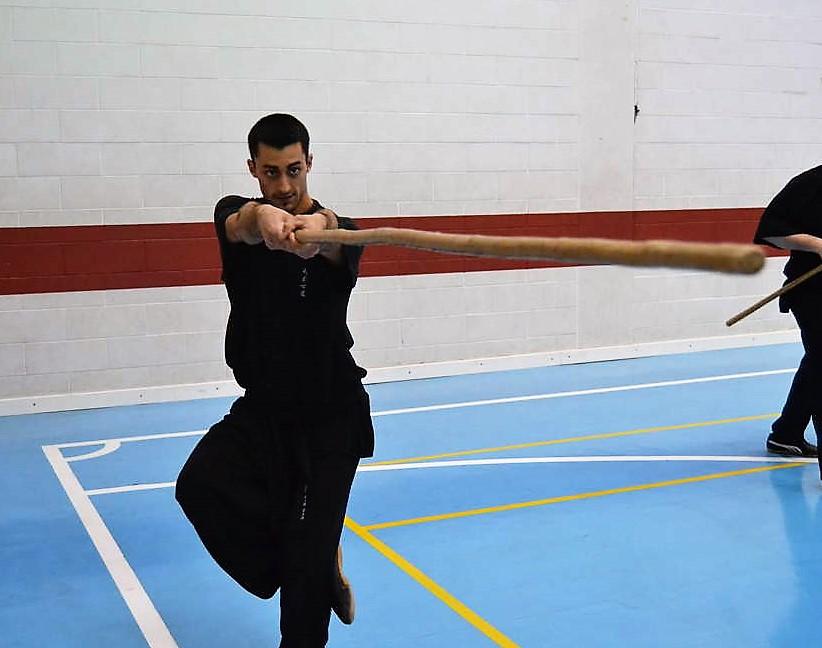 Il bastone lungo di Shaolin