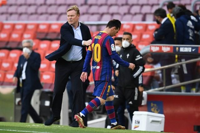 Koeman Messi Barcelona