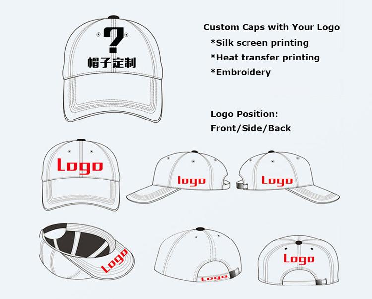Advertising Baseball Caps with Logo (KLPC-001)