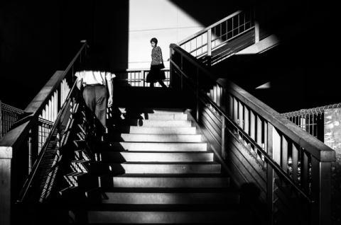 Hashimoto Passing Kunstdruck Leinwandbild Gerahmtes