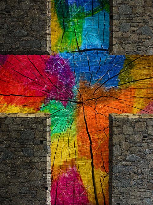 Michael Willfort  Kunst2DaydeDas Leben im Kreuz