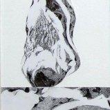 Rügenstein I, Graphitstift auf Papier 22x30cm