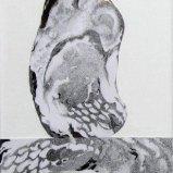 Rügenstein IV, Graphitstift auf Papier 22x30cm