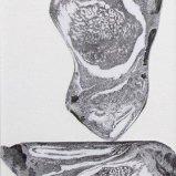 Rügenstein VII, Graphitstift auf Papier 22x30cm