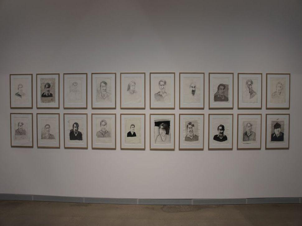 Siegfried Anzinger, Zeichnungen, 2015
