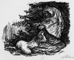 Alfred Kubin Die verlorene Tochter 1914