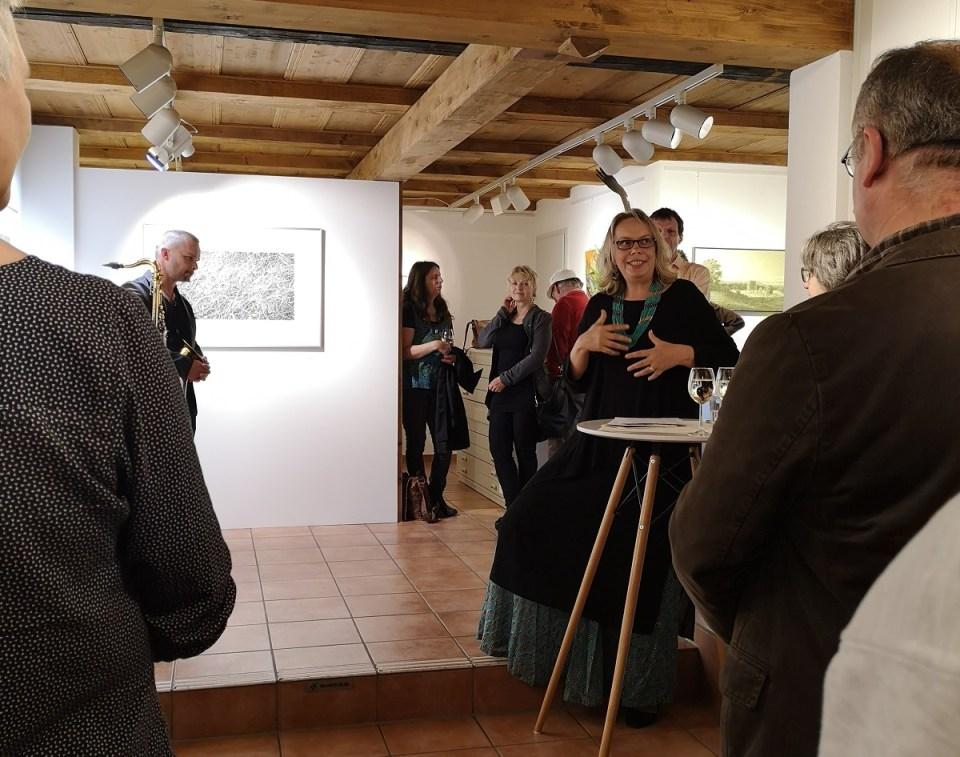 Laudatio Yvonn Spauschus zur Vernissage Jörg Mai in der KunstGalerieHans