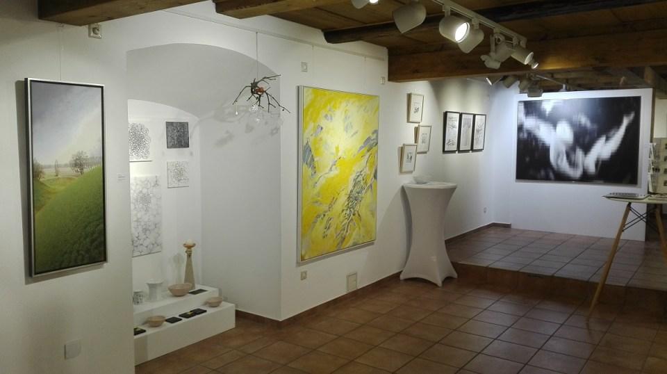 KunstGalerieHans - Blick in die Weihnachtsausstellung 2019