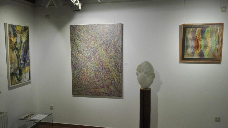 KunstGalerieHans - Blick vorne in Abschlussausstellung