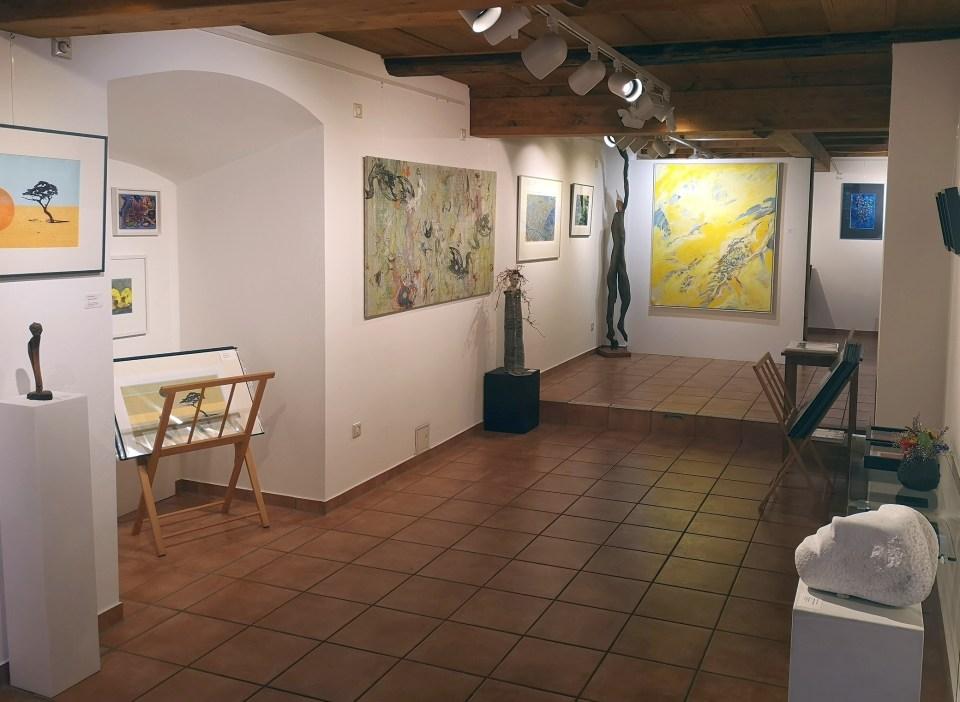 KunstGalerieHans - Blick in die Abschlussausstellung 2020_0715
