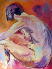 vrouwelijk naakt -  Tineke Blankestijn