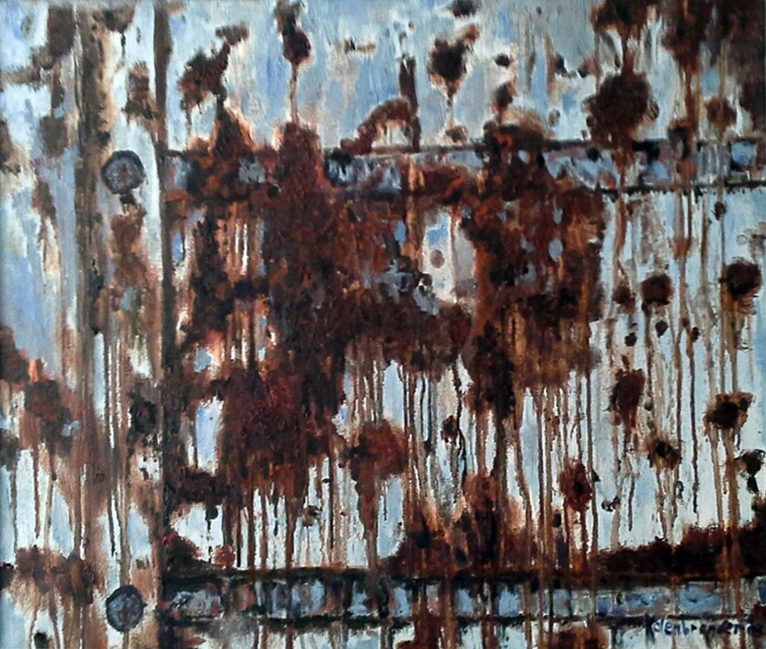 Rust Roest, olieverf, 60 x 70 cm