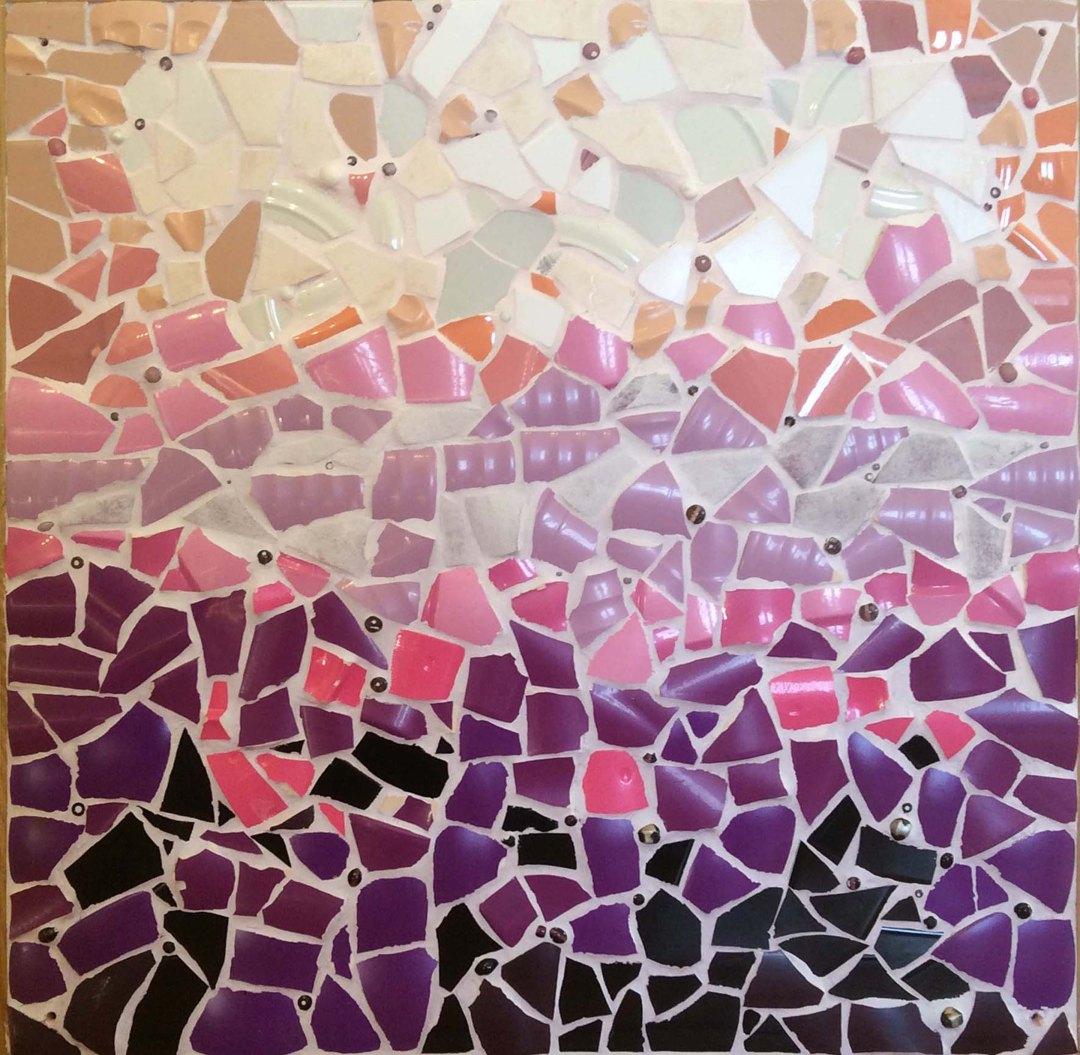 Ode aan Hundertwasser V, Ochtendnevel in de lente