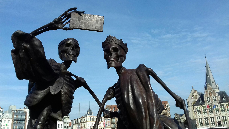 Persbericht over de Feestelijke Inhuldiging van de Beeldengroep van Frans Heirbaut: Johanna en Margaretha van Constantinopel 1217-2017