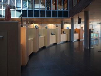 impressie expo gemeentehuis