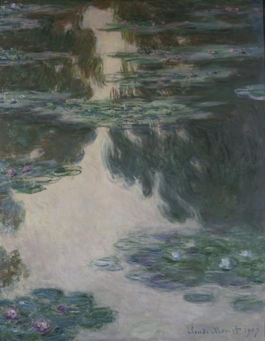 Seerosen  Claude Monet als Kunstdruck oder handgemaltes