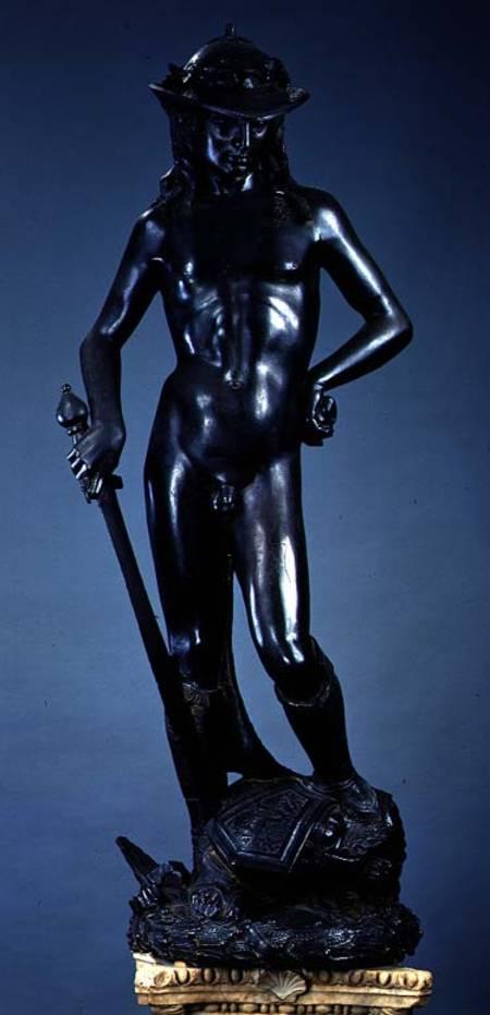 David  Donatello als Kunstdruck oder handgemaltes Gemlde