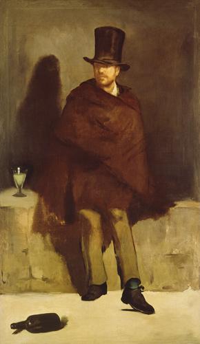 Absinthtrinker  Edouard Manet als Kunstdruck oder
