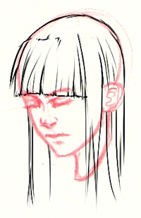 Manga Haare Zeichnen