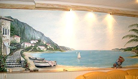 Kunstmalerei Schott  Wandmalerei Fassadenmalerei Illusionsmalerei Fotostudio  Atelier