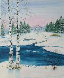 2800 Malerei WinterBilder und Ideen auf KunstNet