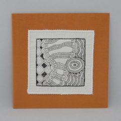 Kunst per post MA1903 oranje 1