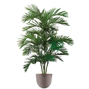 HTT - Kunstplant Areca palm in Eggy taupe H160 cm - kunstplantshop.nl