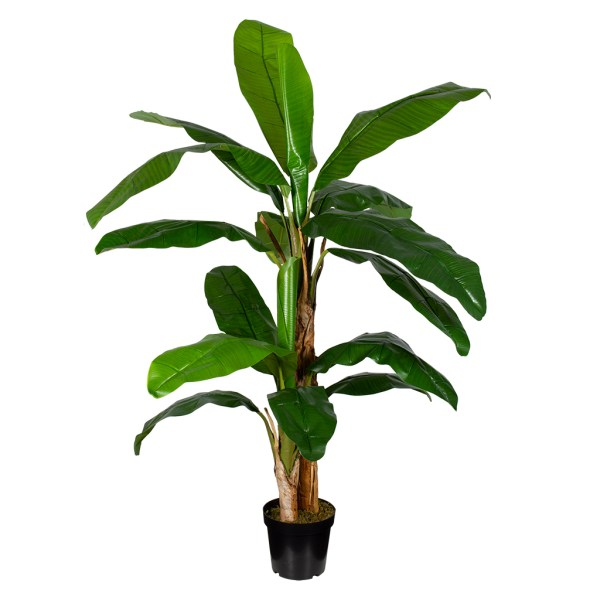 HTT Decorations - Kunstplant Bananenplant H180cm - kunstplantshop.nl