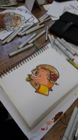 Copic Workshop 2015