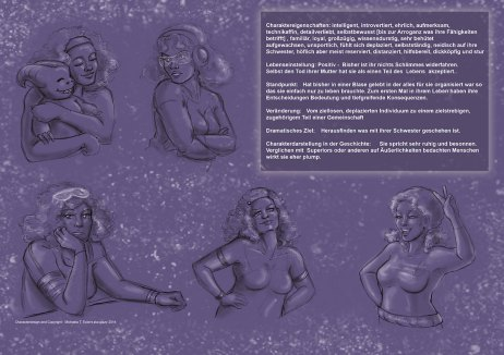 expressionsheet evangeline by pink gizzy