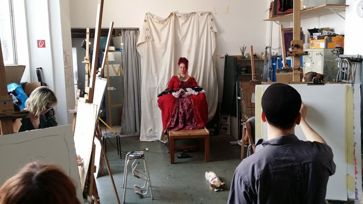 Die Rote Dame