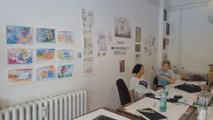 Copic-Workshop Sommerakademie 2016