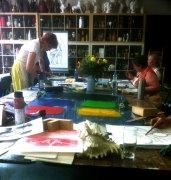 Monotypie Workshop 2016