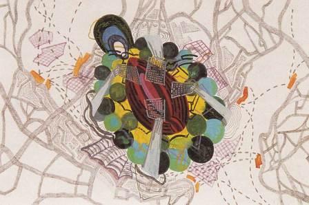 Mental Map von Franz Ackermann