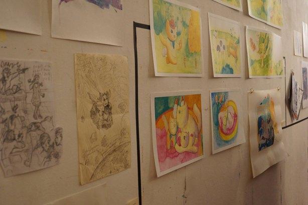 Abschlussausstellung Mappenkurs 2016/17