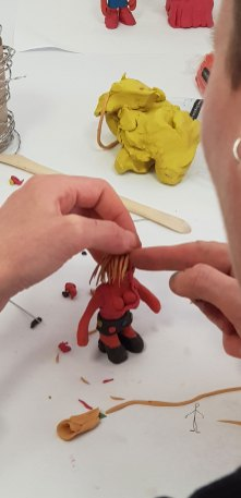 Workshop Claymation Semesterstart 2018 Markus Wende