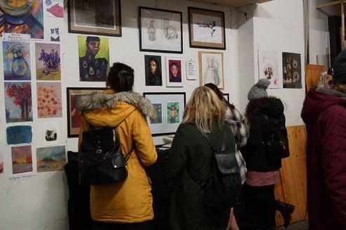 Etwa 200 Besucher kamen zur Ausstellung