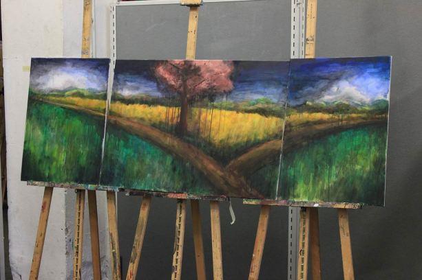 Aus drei mach eins: Triptychon